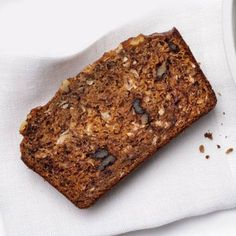 Banana Bread with Coconut and Walnuts Recipe