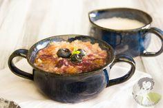 Paleo Peach Blueberry Crisp #paleo #dessert #blueberry