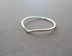 dainty silver rings. (doesn't necessarily have to be this ring in particular)