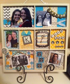 I made this shadowbox for my roommate's Aggie Ring Day! I got everything 50% off at Hobby Lobby! They also always have a 40% off coupon online for a single purchase! I have made these for Aggie Ring Day, family photos, and wedding photos/engagement photos. I also added two pockets on the back of each shadow box and filled them with little notes, photos, and memories for each person's special day!