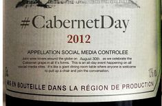 Wine Lovers: here's HOW to participate in #CabernetDay August 30, 2012