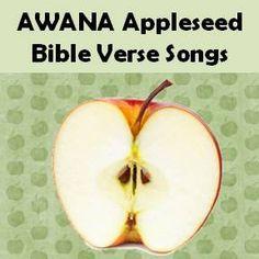 FREE #AWANA Appleseed Bible Verse Songs