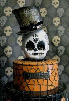 Spooky Halloween Mosaic