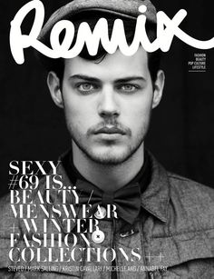 Remix Magazine // by Marissa Findlay  #layout #cover #magazine
