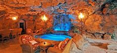 Cave Room with Swimming Pool and Waterfalls _ Drake's New LA Mega Mansion In Hidden Hills, California -172135.jpg