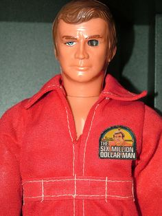 Steve Austin, The Six Million Dollar Man.  My brother had this, and I stole it because I needed another Ken.