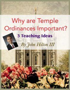 lds temple ordinances, young women temple ordinances