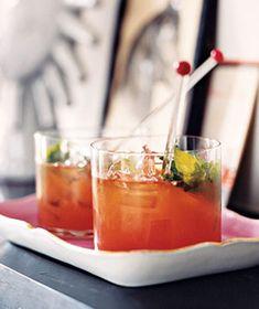 Bourbon and Blood Orange Blast Recipe