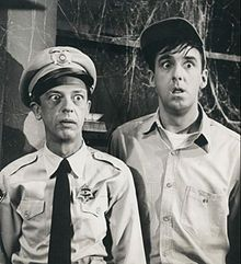 The Andy Griffith Show  Barney and Gomer Pyle.