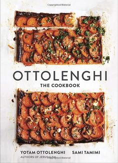 The Cookbook by Yotam Ottolenghi and Sami Tamimi: Available for the first time in an American edition, this debut cookbook, from bestselling authors Yotam Ottolenghi  and Sami Tamimi of Plenty and Jerusalem, features 140 recipes culled from the popular Ottolenghi restaurants and inspired by the diverse culinary traditions of the Mediterranean. #Cookbook