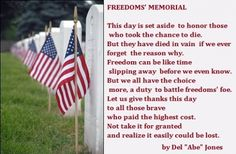 memorial day prayer 2010