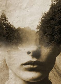 double exposure nature portrait by  antonio mora 3