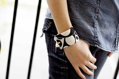 DIY cuff bracelet by All Put Together