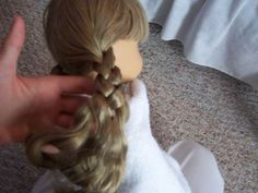 Tips on re-fixing Kirsten's Braids (and managing AG doll hair)