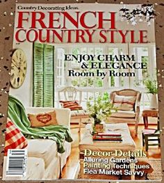 Dorm ideas on pinterest french country style rose for French country cottage magazine
