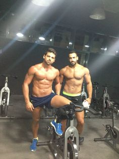Right: Mr. Lebanon 2013: Ayman Moussa. Where do I sign up for this cycle class?