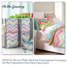 Redecorating with Thirty-One AND Pottery Barn? Yes!