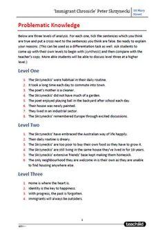 10 mary street peter skrzynecki essay