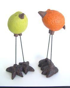 Pinch pot birds?