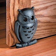 Owl Decorative Doorstop