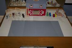 multipurpos train, at home, train table, legos, activ tabl, homes, light table, lego table, kid