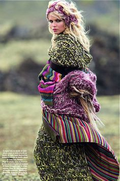 Natasha Poly for Vogue Paris by Hans Feurer