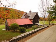Barns in the Fall