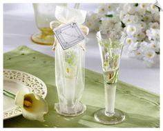 Calla Lily Candle Spring Wedding Favors perfect for a garden wedding