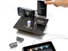 universal charging system for 4 devices. want.