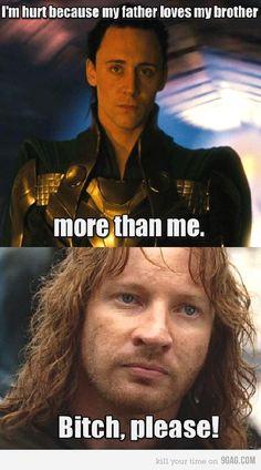 Just Loki and Faramir