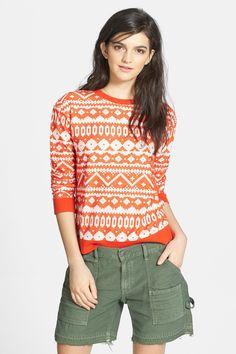 Hinge | Hinge(R) Textured Pattern Pullover