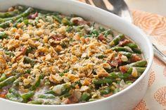 kraft recipes, veggie dinners, green beans, bacon, casserol recip, smoki green, green bean casserole, casserole recipes, kraft foods
