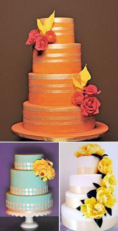 Amazing fall wedding cakes!