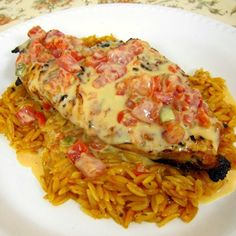 Pinner's TnT: Queso Smothered Chicken -