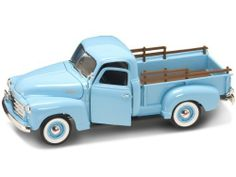 Yat Ming Scale 1:18 - 1950 GMC Pick Up Truck by Yat Ming. $34.99. From the Manufacturer                Scale 1:18 - 1950 Gmc Pick Up in White                                    Product Description                Doors OpenHood OpensTailgate OpensWheels SteerWheels RollMade of Diecast