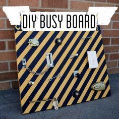 DIY Busy Board Activity