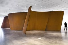 """""""Band,"""" Richard Serra, 2006. Incredible to see in person."""