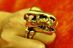 Vintage Inspiration TREX DINOSAUR Head Skeleton by enjoyorigano, $28.99