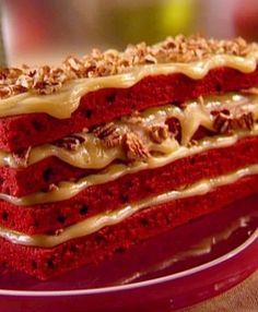 Grandma's Red Velvet #Cake recipe