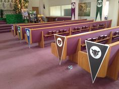 ~Kingdom Rock V.B.S. Decorations~ Crew Banners laminated and mounted to foam poster boards
