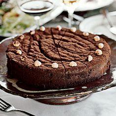 40  Mouthwatering Holiday Desserts | Chocolate-Bourbon Cake | CoastalLiving.com