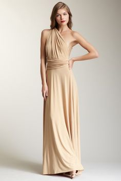 long transformer wrap dress
