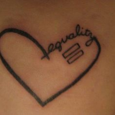 Equality tattoo <3 Have had this picked out for 3 years. getting it soon <3