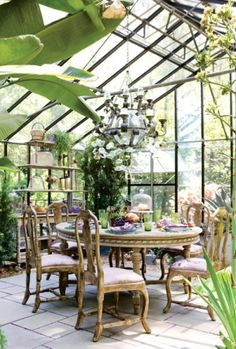 Green house and breakfast!!  Sun room by Brittannie