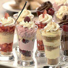 Dessert shots on Pinterest | Dessert Shots, Strawberry Parfait and ...