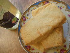 Domestic Sluttery: Baking for Beginners: Lemon and Elderflower Shortbread
