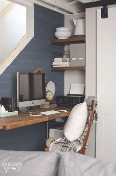 Rustic Office Nook P