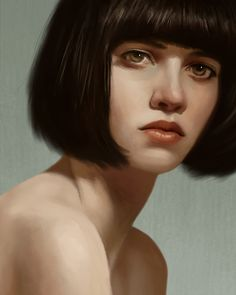 Portrait Study Revisited by *Zhrayde [dA]