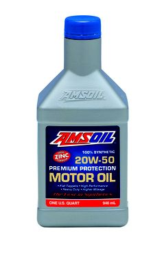 Amsoil Synthetic 20w 50 Motor Oil Is Specially Formulated