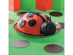 How to Make a Ladybug Birthday Cake   iVillage.ca mixing bowls, big cakes, smash cakes, ladybug cakes, kid birthday cakes, kid birthdays, kid parties, cake recipes, ladybug birthday